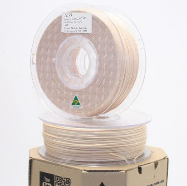 Aurarum ABS 3D Printer Filament - Beige 1.75mm 1Kg