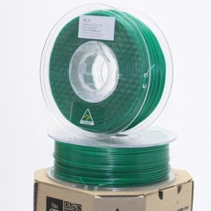 Aurarum PLA 3D Printer Filament – Emerald 1.75mm 1Kg