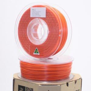 Aurarum PLA 3D Printer Filament – Orange 1.75mm 1Kg