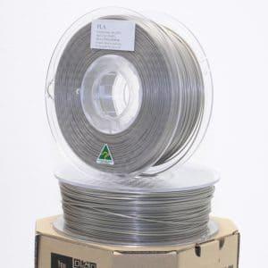 Aurarum PLA 3D Printer Filament – Platinum/Titanium 1.75mm 1Kg