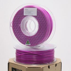 Aurarum PLA 3D Printer Filament – Purple 1.75mm 1Kg
