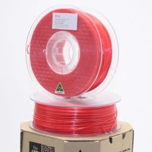 Aurarum PLA 3D Printer Filament – Red 1.75mm 1Kg