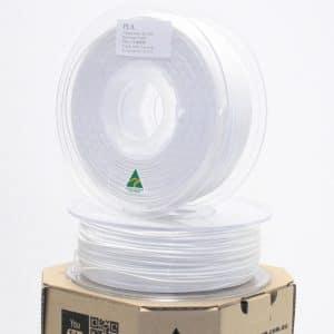 Aurarum PLA 3D Printer Filament – White 1.75mm 1Kg