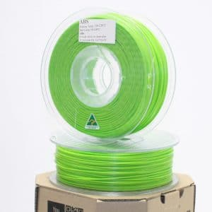 Aurarum ABS 3D Printer Filament – Lime 1.75mm 1Kg