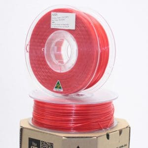Aurarum ABS 3D Printer Filament – Red 1.75mm 1Kg
