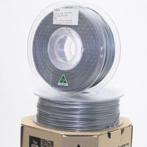 Aurarum ABS 3D Printer Filament – Silver 1.75mm 1Kg