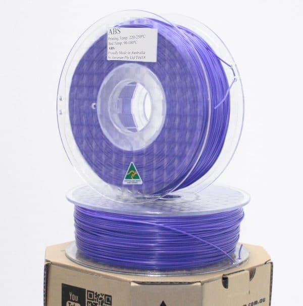 Aurarum ABS 3D Printer Filament - Violet 1.75mm 1Kg