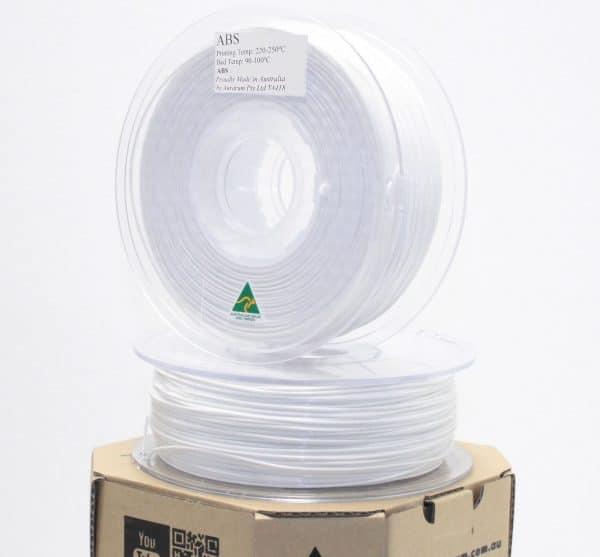 Aurarum ABS 3D Printer Filament - White 1.75mm 1Kg