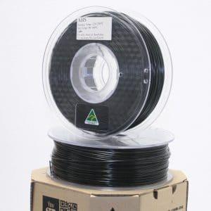 Aurarum ABS 3D Printer Filament – Black 1.75mm 1Kg