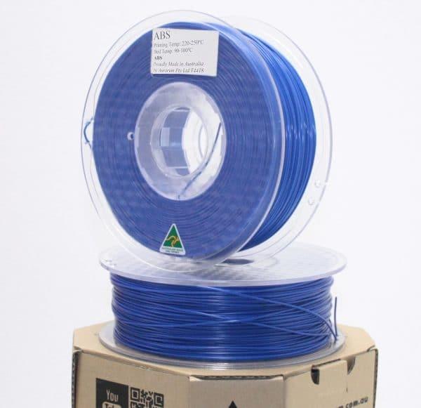 Aurarum ABS 3D Printer Filament - Denim Blue 1.75mm 1Kg