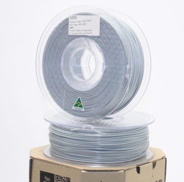 Aurarum ABS 3D Printer Filament - Grey 1.75mm 1Kg