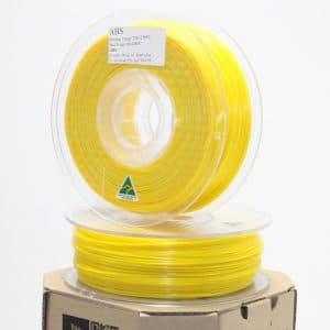 Aurarum ABS 3D Printer Filament – Yellow 1.75mm 1Kg