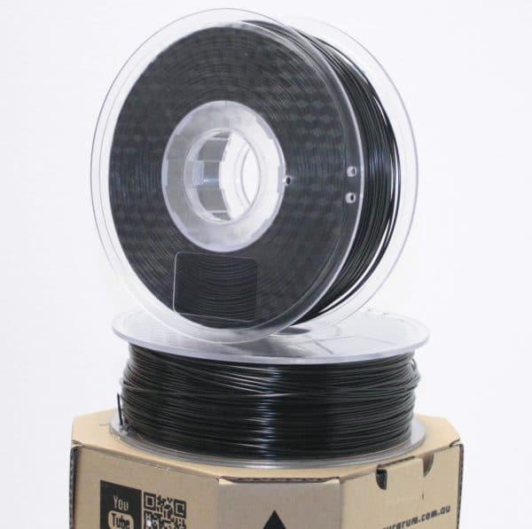 Aurarum PPLA 3D Printer Filament - Silky Black 1.75mm 1Kg