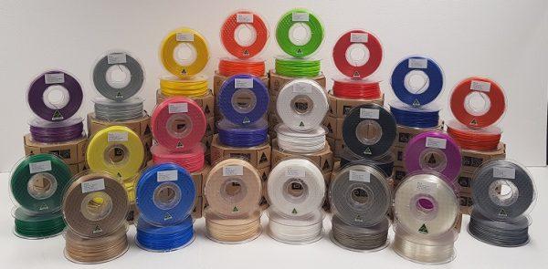Aurarum 3D Printer Filament - Factory Seconds Pack 6x1kg PETG rolls
