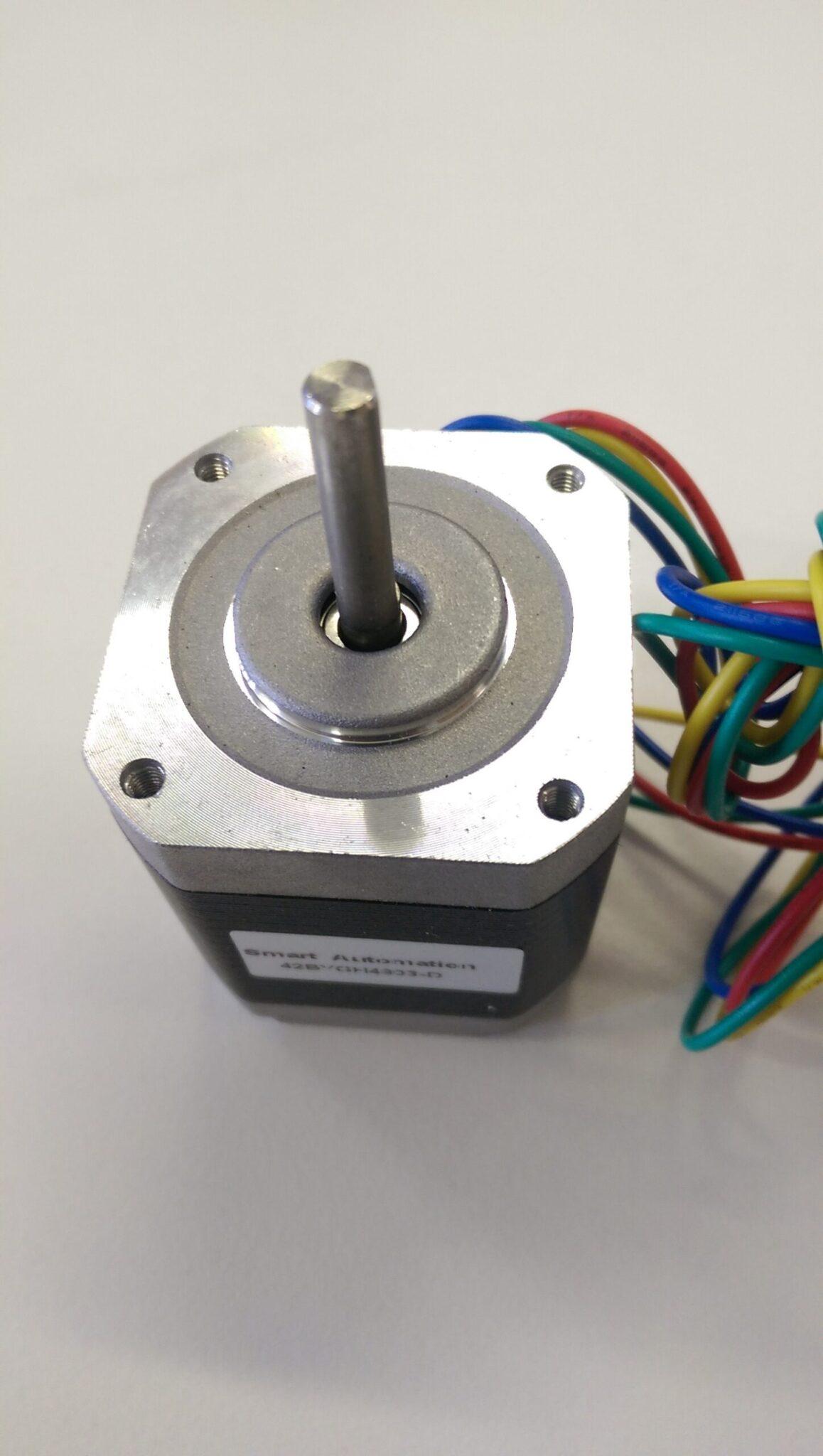 1.8degrees Nema 17 stepper motor, 5.5 kg.cm holding torque, D shaft 1704180