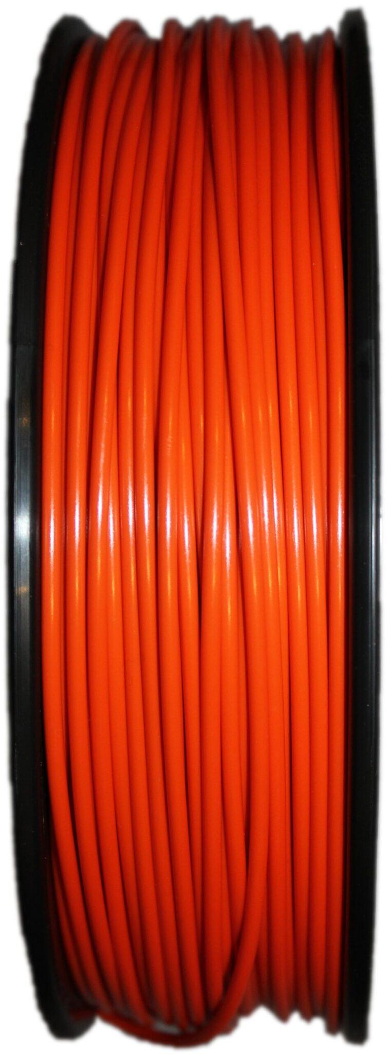 Aurarum PLA 3D Printer Filament - Orange 2.85mm 1Kg