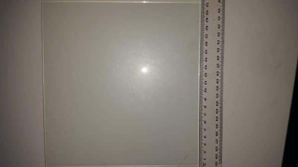 Borosilicate glass 220x220
