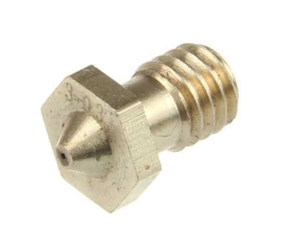 Nozzle 0.3 mm Brass J-Head M6 Thread 2pcs