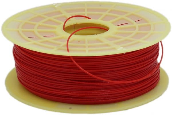 Aurarum PETG 3D Printer Filament - Red 2.85mm 1Kg