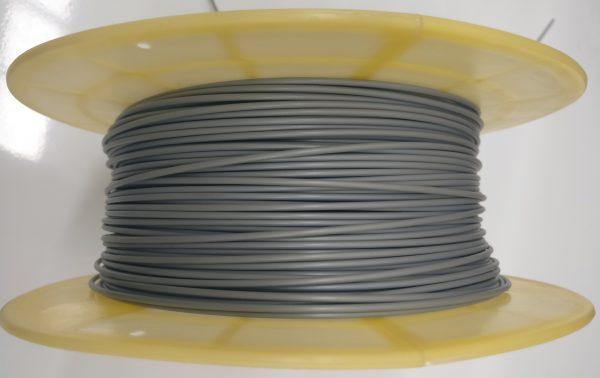 Aurarum TPU 3D Printer Filament - Flexible Silver 1.75mm 1Kg