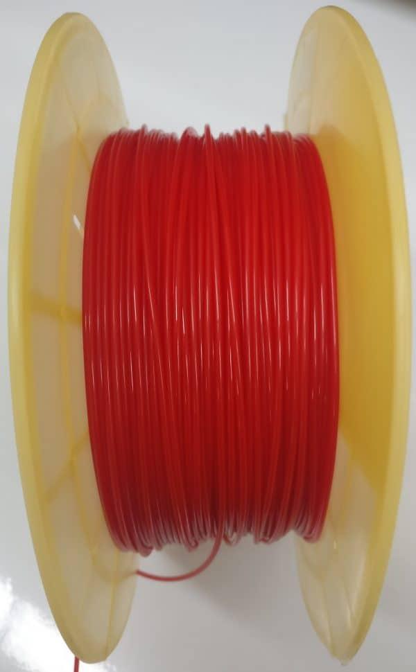 Aurarum TPU 3D Printer Filament - Flexible Rubber Red 1.75mm 1Kg