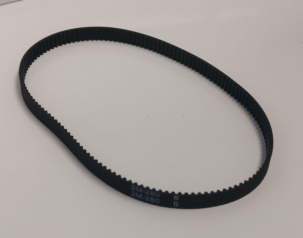 GT2 6mm closed loop 280mm long