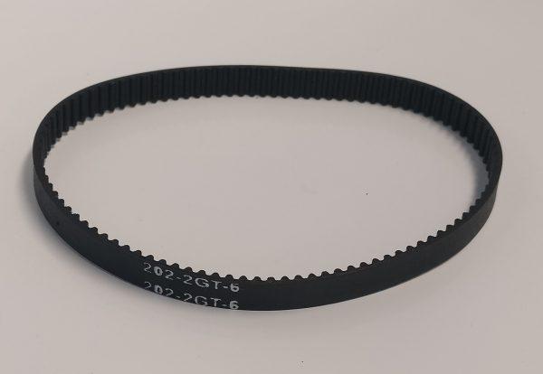 GT2 6mm closed loop 202mm long
