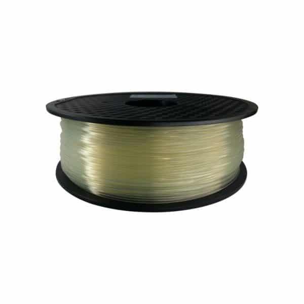 Aurarum PLA 3D Printer Filament - Transparent Green 1.75mm 1Kg