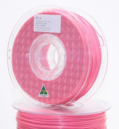 Aurarum PLA 3D Printer Filament - Pink 1.75mm 1Kg