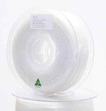Aurarum PLA 3D Printer Filament - NaturalTranslucent 1.75mm 1Kg