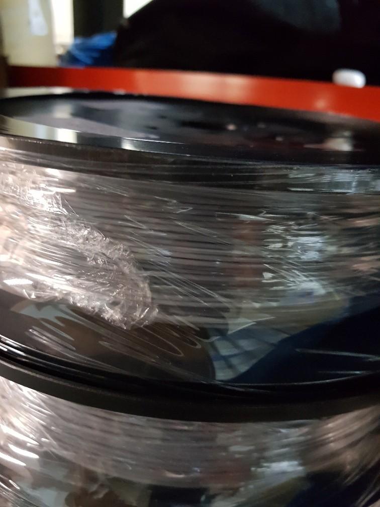 Bulk 3D printer filament spools