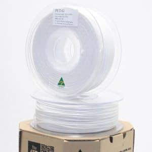 Aurarum PET 3D Printer Filament – White 1.75mm 1Kg