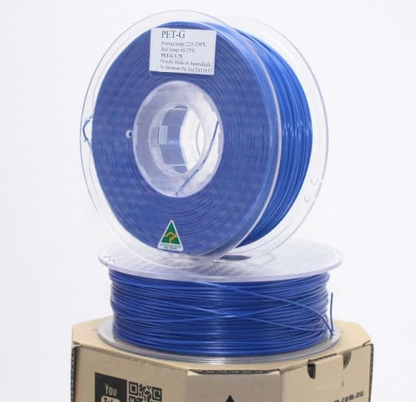 Aurarum PETG 3D Printer Filament - Blue 1.75mm 1Kg