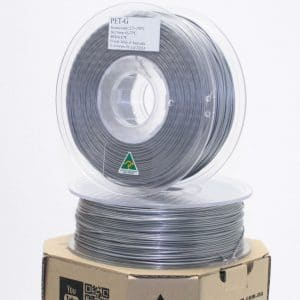 Aurarum PETG 3D Printer Filament – Silver 1.75mm 1Kg