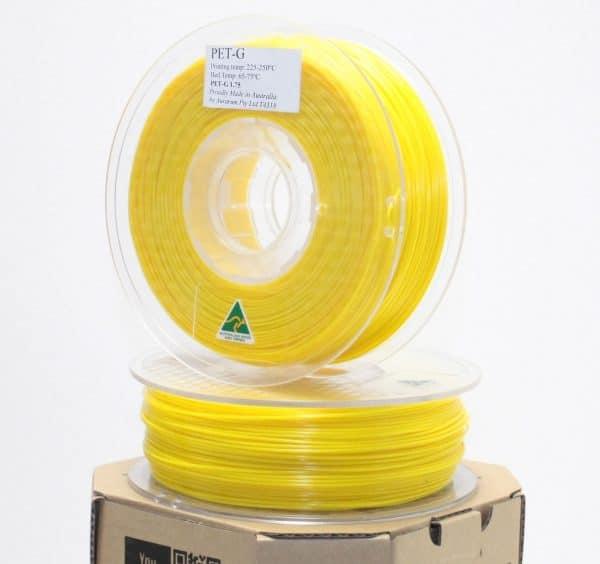 Aurarum PETG 3D Printer Filament - Yellow 1.75mm 1Kg