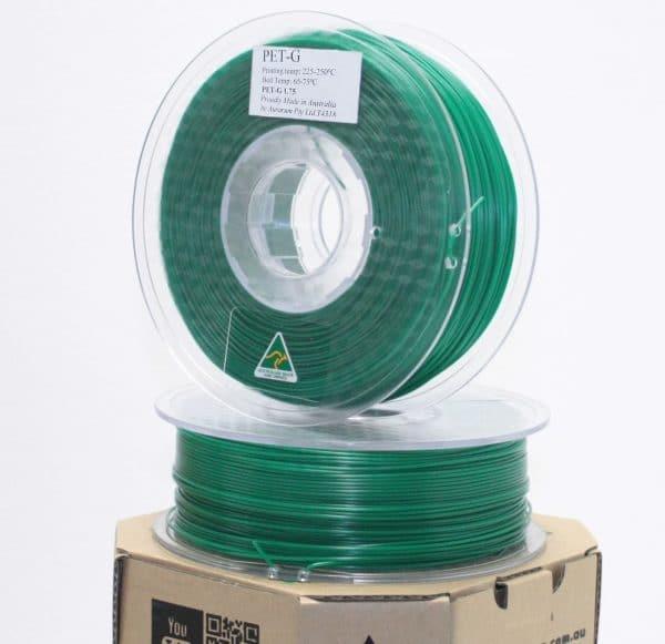 Aurarum PETG 3D Printer Filament - Green 1.75 1Kg