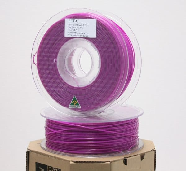 Aurarum PETG 3D Printer Filament - Purple 1.75mm 1Kg