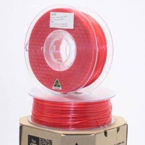 Aurarum ABS 3D Printer Filament – Red 2.85mm 1Kg