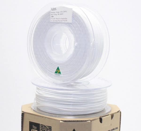 Aurarum ABS 3D Printer Filament - White 2.85mm 1Kg