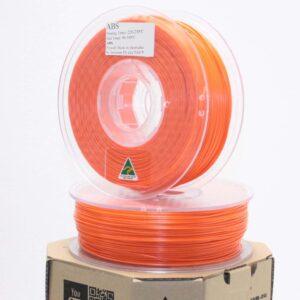 Aurarum ABS 3D Printer Filament – Safety Orange 2.85mm 1Kg