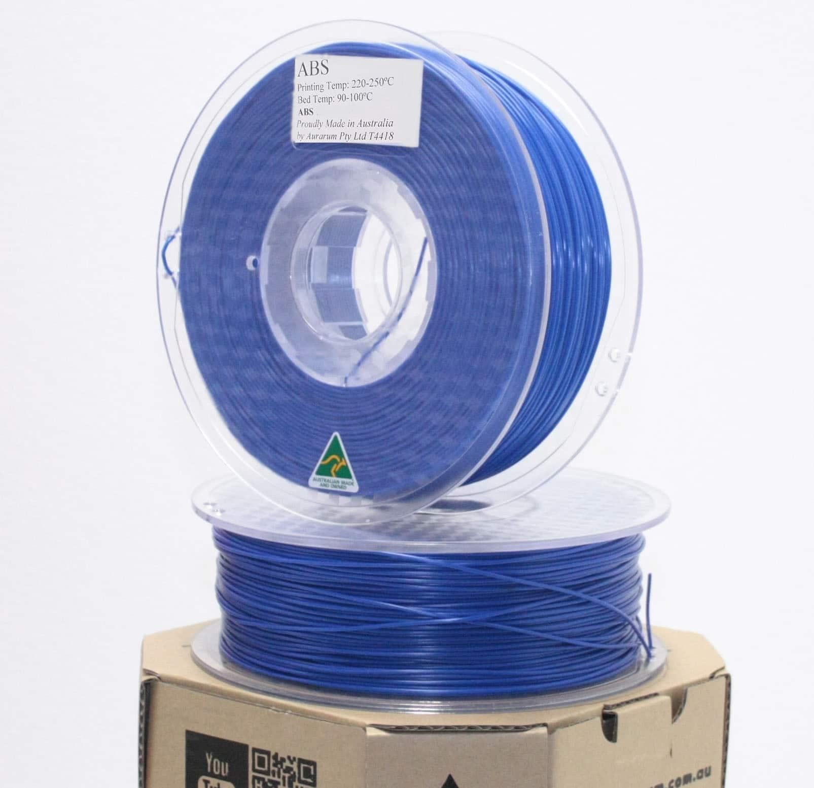 Aurarum ABS 3D Printer Filament - Denim Blue 2.85mm 1Kg