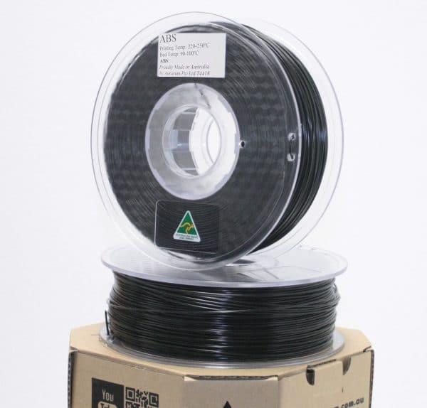 Aurarum ABS 3D Printer Filament - Black 2.85 mm 1Kg