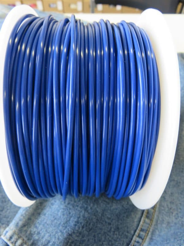 Aurarum PLA 3D Printer Filament - Denim Blue 2.85 mm 1Kg
