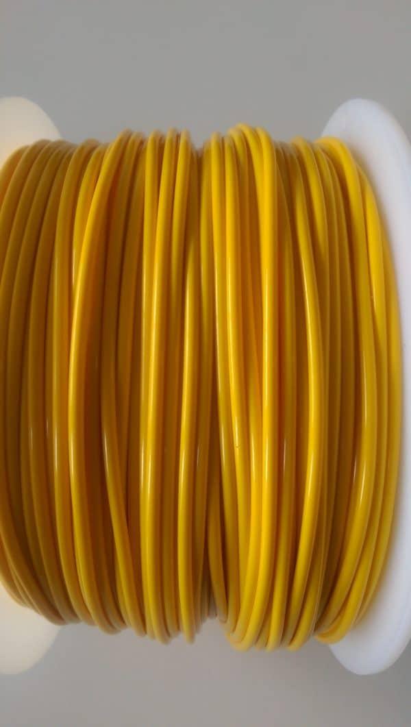 Aurarum PLA 3D Printer Filament - Yellow 2.85 mm 1Kg