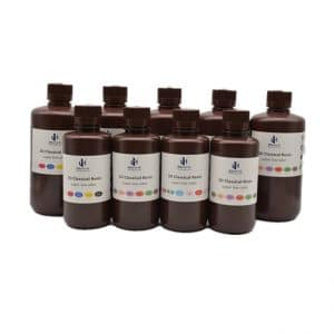 Super Low Odour 3D Printer Resin – Black 500G