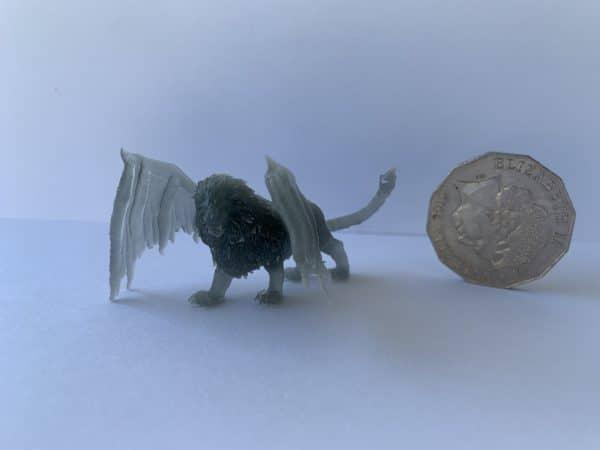 Tough/Super Low Odour 3D Printer Resin - Metal Silver 500G