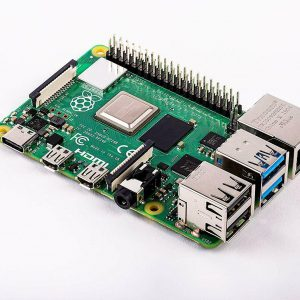 Raspberry Pi 4 Model B, BCM2711 SoC, 4GB DDR4 RAM, USB 3.0, PoE Enabled