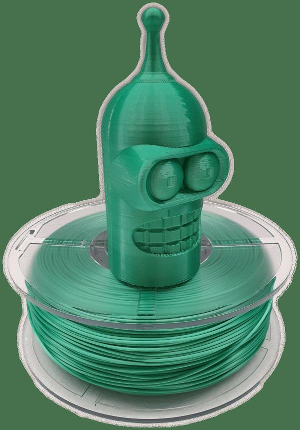Aurarum PPLA 3D Printer Filament - Silky Green 1.75mm 1Kg