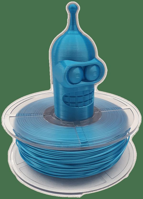 Aurarum PPLA 3D Printer Filament - Silky Blue 1.75mm 1Kg