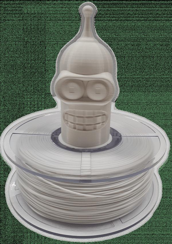 Aurarum PPLA 3D Printer Filament - White Pearl 1.75mm 1Kg